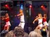 'Code Red' auf der Bühne vor dem Brandenburger Tor