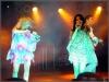 'Hot Banditoz' auf der Bühne vor dem Brandenburger Tor