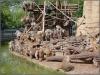 21.4.2007 Fütterung beim Pavian-Felsen